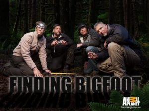 finding bigfoot group photo